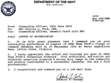 appreciation letter for new assignment togetherweserved cpo tugboat phil toth