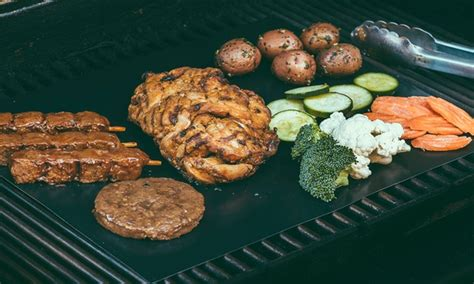 Bbq Grilling Mat by 9 99 For A 2 Pack Of Bbq Grill Mats Groupon