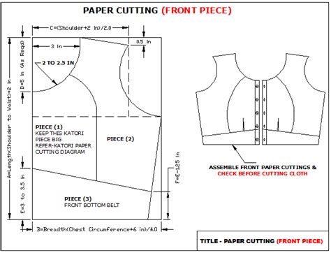 pattern making of katori blouse easy2stitch how to stitch katori blouse different front