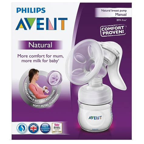 philips avent comfort breast pump buy avent comfort manual breastpump online at chemist