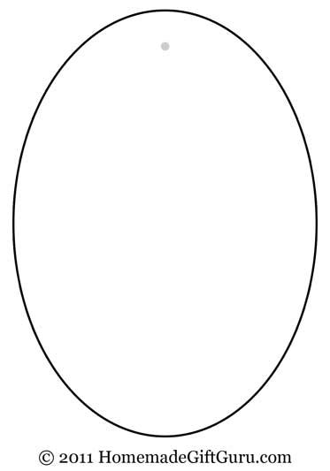 free coloring pages of image of oval face