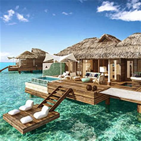 sandals to debut over the water suites in jamaica