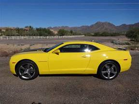 5th yellow 2010 rs chevrolet camaro v6 304 hp for sale