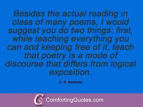 the complete poems of a r ammons volume 2 1978 2005 books 11 quotes and sayings by a r ammons comfortingquotes