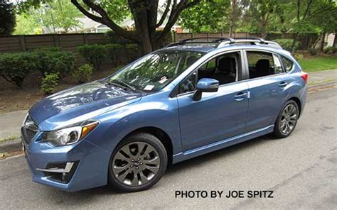 2016 subaru impreza hatchback blue 2016 subaru impreza roof bike rack 4k wallpapers