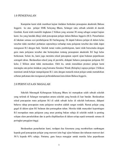 format penulisan proposal kajian tindakan proposal kajian tindakan