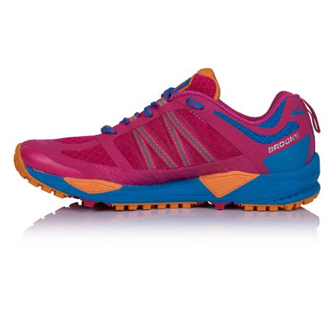 sports shoes au cascadia 11 womens pink blue trail running sports