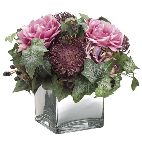 5pcs Fresh Pink Tea High Artificial Flower Home 24 Best Images About Burgundy Pink And Green Decor On Pinterest