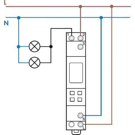 Elektrische Rolläden Zeitschaltuhr Nachrüsten by Zeitschaltuhr F 252 R Hutschiene Betriebsspannung 230 V Ac
