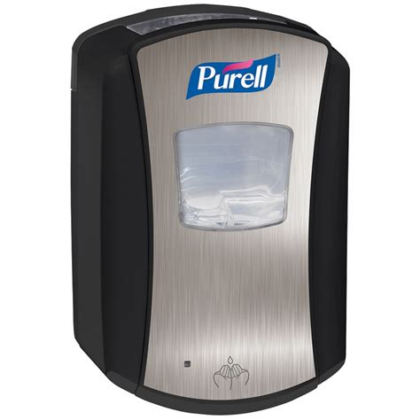 Dispenser No7 purell ltx 7 dispenser chrome black dispensers lotion soap infection