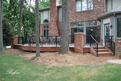 Masonry Raised Patio in West Bloomfield Archives