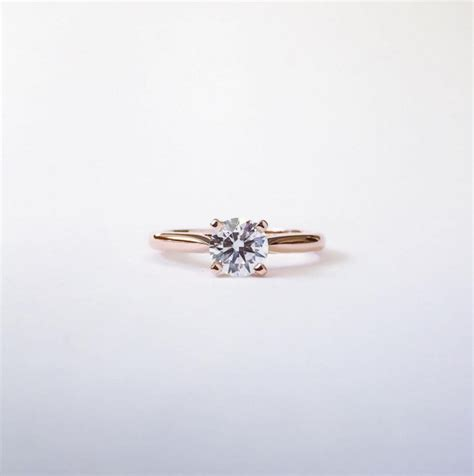 the most classic of styles the solitaire engagement ring