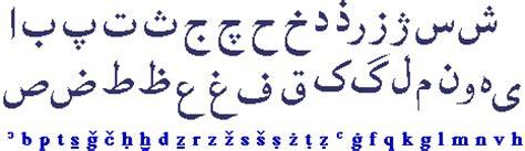 lettere alfabeto arabo alfabeto persiano