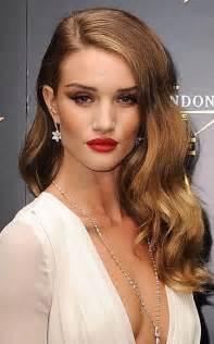 wavy hairstyle so glam gorgeous