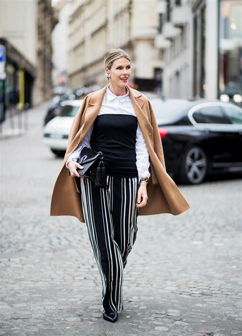 street style  marc cain  paris fashion week vue magazine