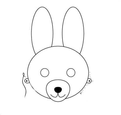 coloring pages bunny face 9 bunny coloring pages