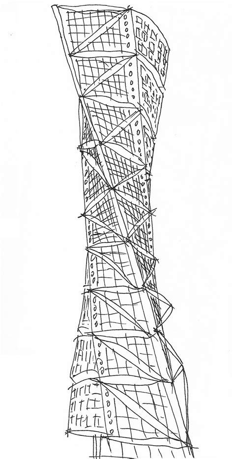 turning torso section twisted logic turning torso as innovative housing