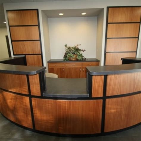 Custom Made Reception Desks Custom Made Reception Desk By C N C Custom Cabinets Custommade