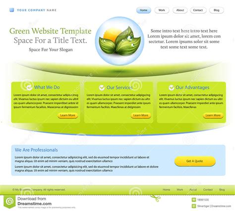 wellness template website template for health care company stock photo