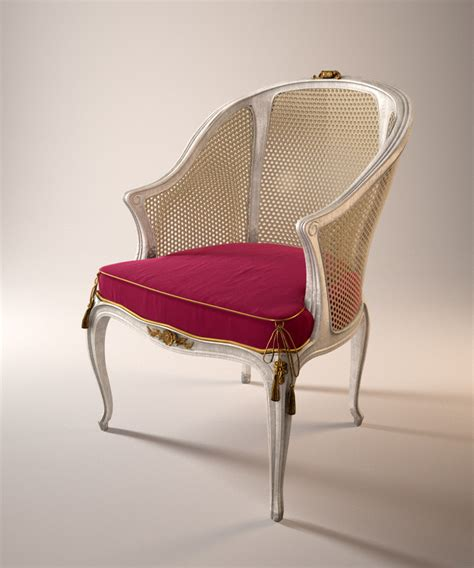 classic chair free 3d models for 3ds max maya cinema 4d archicad