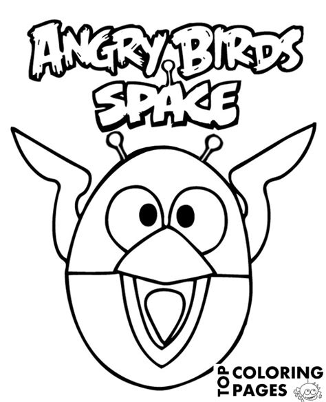 angry birds space coloring pages blackbird angry birds space to print or download for free