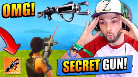 fortnite zapatron sniper the secret gun in fortnite battle royale zapatron