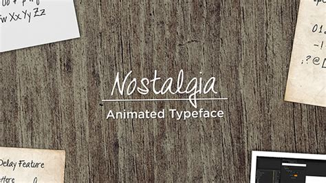 handwriting template after effects nostalgia animated handwriting holidays after effects