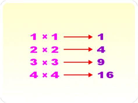 numero cuadrado definici 243 n n 250 mero cuadrado