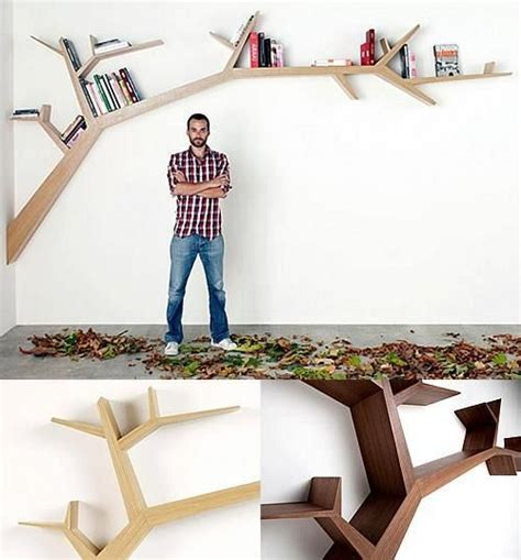 tree branch bookshelf by olivier doll 233 for the home