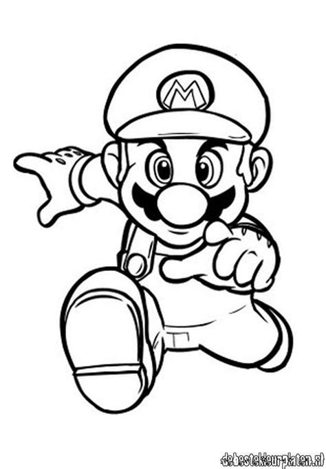 Mario6 Printable Coloring Pages Mario Coloring Pages Free