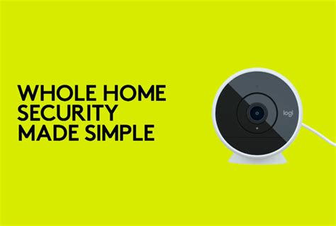 logitech launches new home security