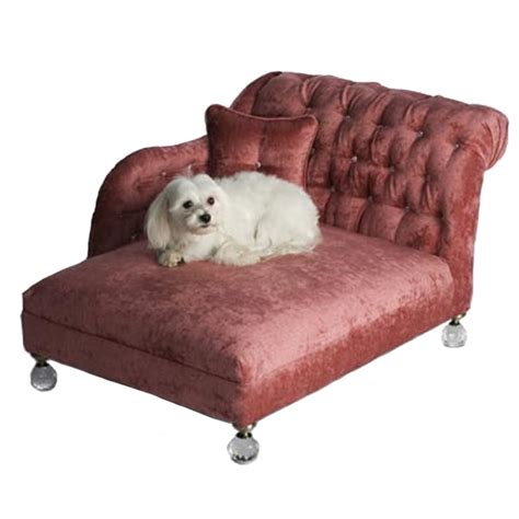 puppy beds hepburn bed pink crystalline luxury boutique at glamourmutt