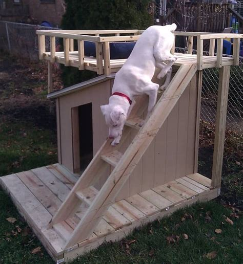 how to build a roof for a dog house how to make a roof top dog house deck the whoot