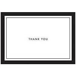 Office Depot Desk Calendars Gartner Studios Thank You Cards 5 X 3 12 Black Border Pack