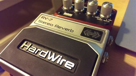 one hardwire hardwire rv 7 stereo reverb reverb