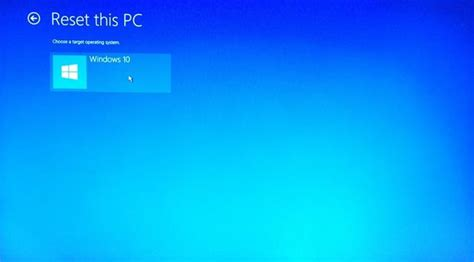resetting windows machine reset your windows 10 system with the remove everything