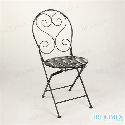 wrought iron folding table wrought iron folding chairs from triquimex