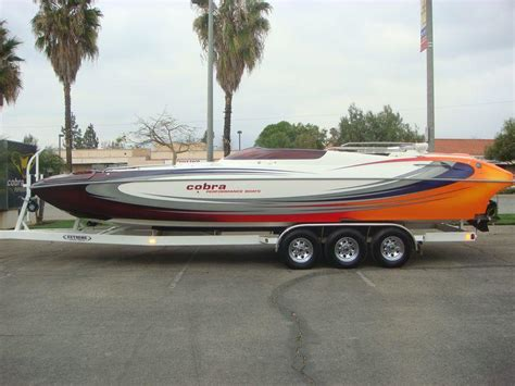 used performance boats for sale california 2007 cobra performance boats 260 python mold powerboat for