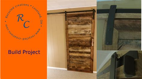 recycled barn doors how to make an up cycled pallet wood sliding barn door