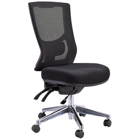 buro metro chair buro metro ii high mesh back chair black officemax nz