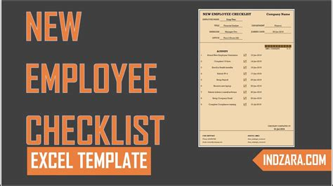 new hire checklist template out of darkness