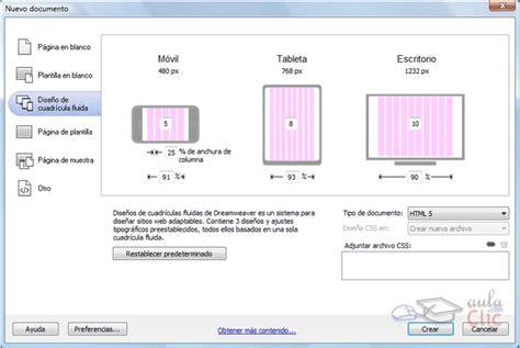 que es un grid layout curso gratis de curso dreamweaver cs6 aulaclic 1