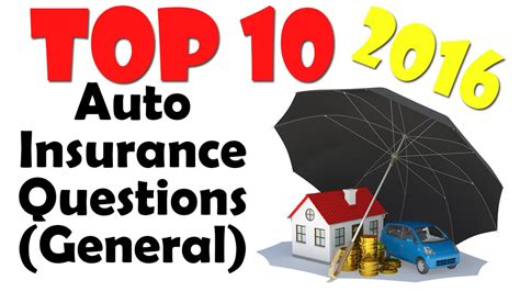 Car Insurance Questions by Auto Insurance Questions Top 5 Auto Insurance Questions