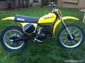 1976 Suzuki Rm125 1976 Suzuki Rm125a Bike Showcase Vintagemx Net