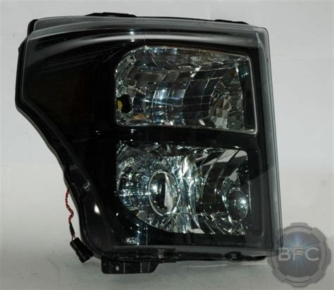 2012 f250 headlights 2012 ford f250 superduty black chrome ls460r hid