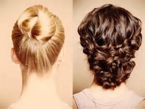 frisuren lange haare hochstecken frisuren alltag lange haare