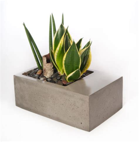 modern wood planter modern planter kevin wood v3 planter2 planters concrete and woods