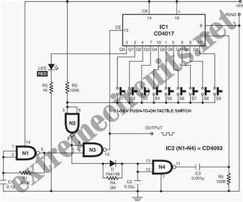 pulse generator circuit diagram