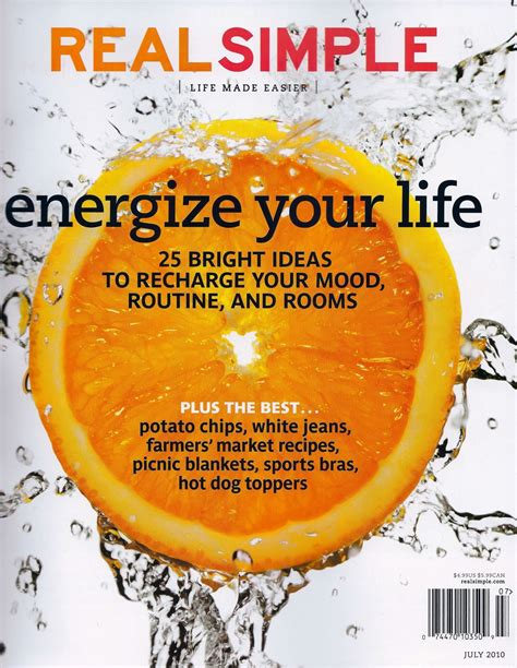 real simple magazine amy spencer blog