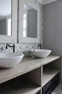 salle de bain carreau ciment salle de bain